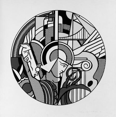 Roy Lichtenstein - The Solomon R. Guggenheim Museum Poster