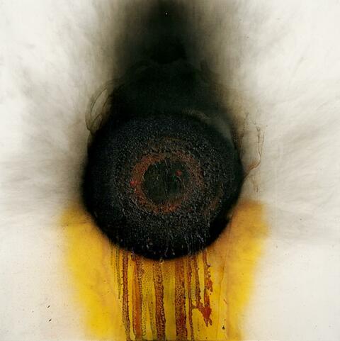 Otto Piene - Feuerblume