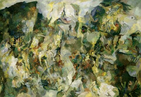 Bernard Schultze - Mythen-Wälder
