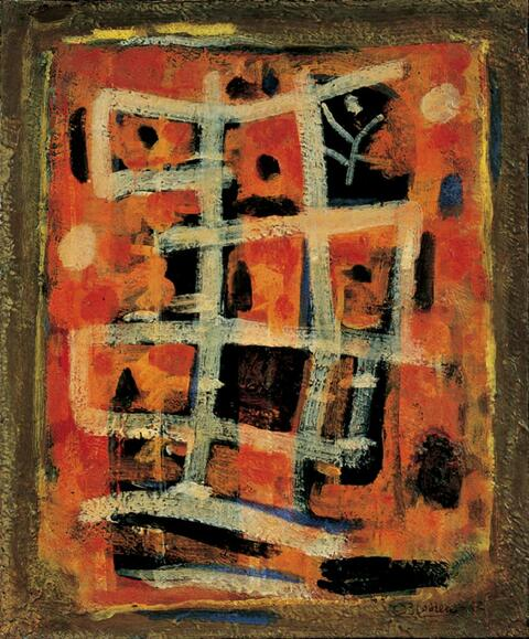 Roger Bissière - Composition 87