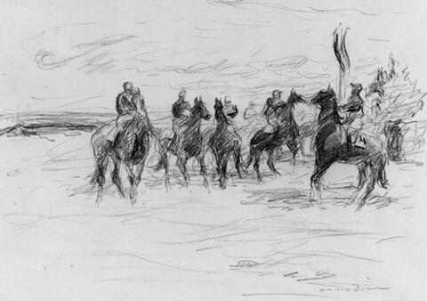 Otto Dill - Pferderennen