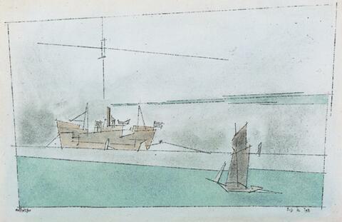 Lyonel Feininger - Marine