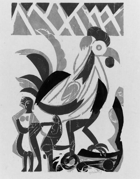 H.A.P Grieshaber - Primo vere