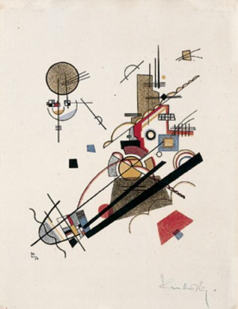 Wassily Kandinsky - Fröhlicher Aufstieg