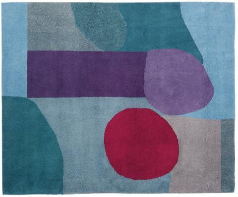 Nach Paul Klee - Bleu / rouge