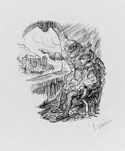 Alfred Kubin - Aus: Heinrich Lautersack, Unpaar
