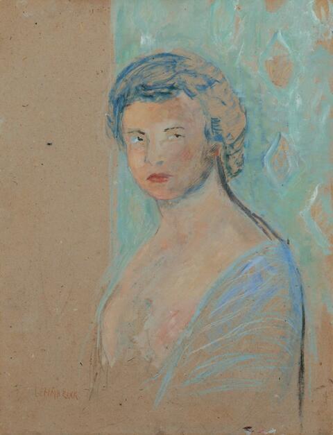 Wilhelm Lehmbruck - Damenporträt
