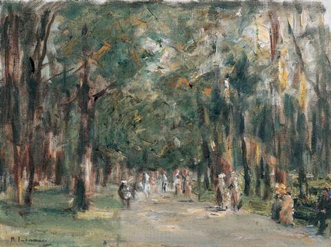 Max Liebermann - Allee im Tiergarten