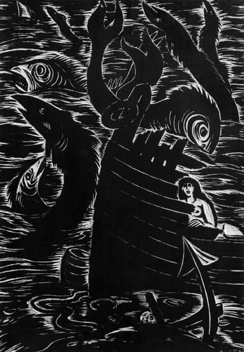 Frans Masereel - Chant Marin