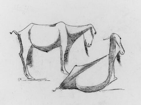 Emy Roeder - Ziegen