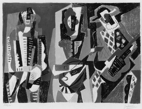 Gino Severini - Le Concert