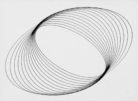 Peter Keetman - Schwingungen (schwarz auf weiß)