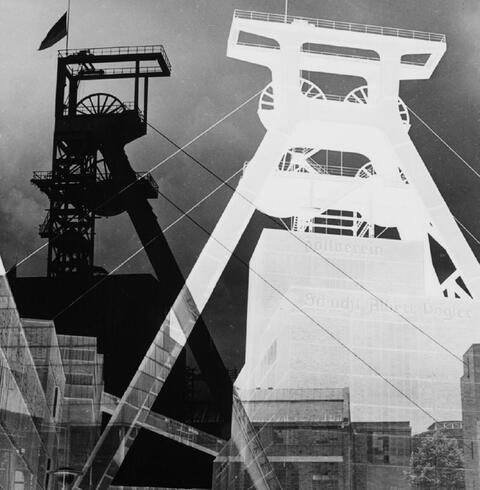 Ludwig Windstosser - Zeche Zollverein (Negativmontage)