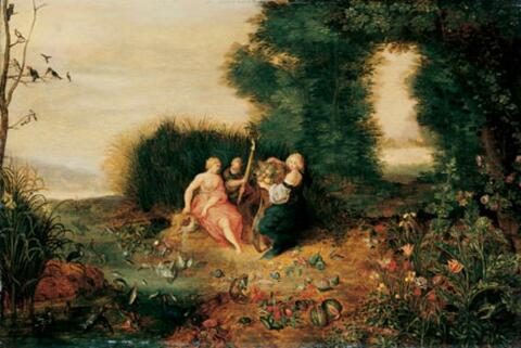 Jan Brueghel d. J., Werkstatt - ALLEGORIE DER ELEMENTE.