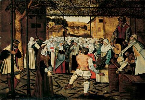 Pieter Brueghel d. J., Nachfolge - DER KATHARINENTANZ