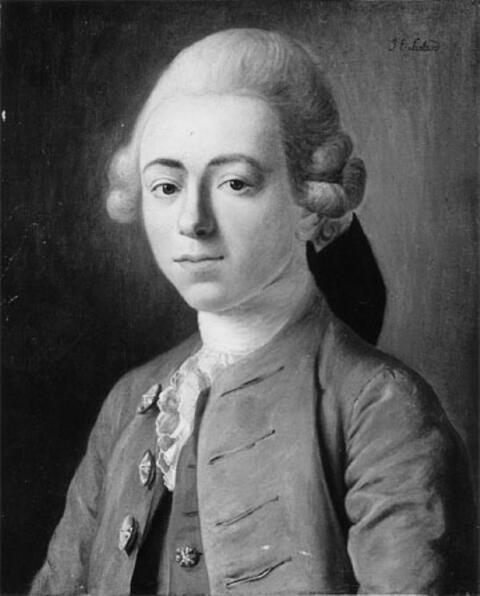 Jean Etienne Liotard, Umkreis - KNABENBILDNIS.