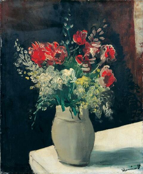 Maurice de Vlaminck - Bouquet de fleurs
