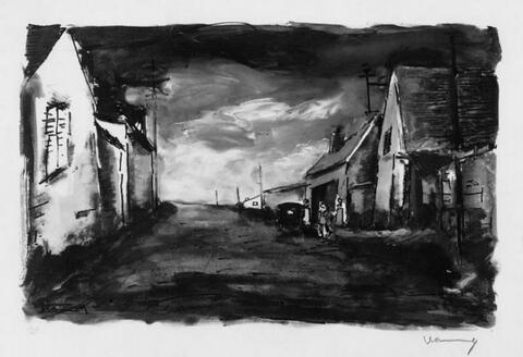 Nach Maurice de Vlaminck - Rue de Village