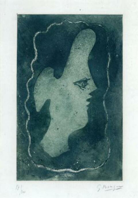 Georges Braque - Tête Verte