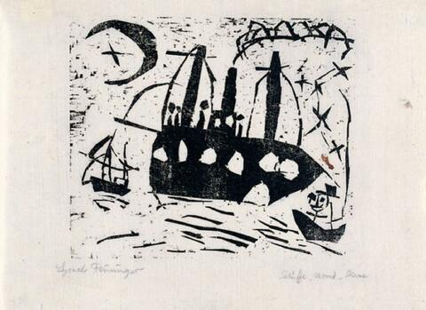 Lyonel Feininger - Fröhliche Schiffsreise