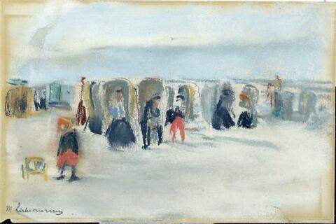 Max Liebermann - Strandkörbe