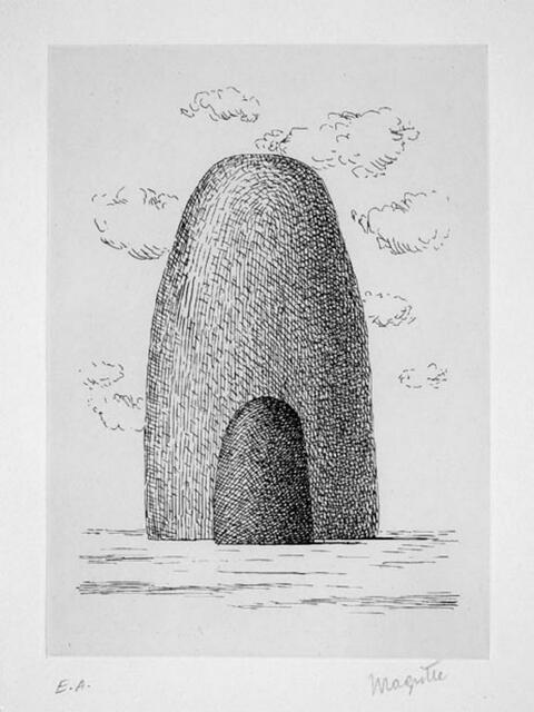 René Magritte - L' Aube à l'Antipode