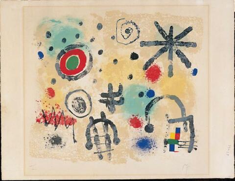 Joan Miró - Signes et Météores