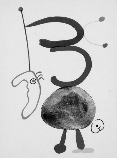 Joan Miró - Tristan Tzara, Parler Seul