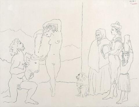 Pablo Picasso - La Danse des Banderilles
