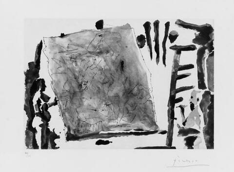 Pablo Picasso - Dans l'atelier