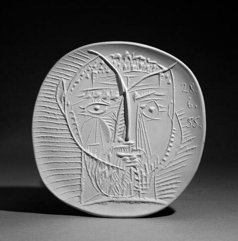 Pablo Picasso - Visage de faune