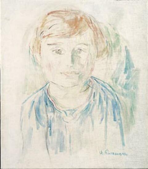 Hans Purrmann - Mädchenbildnis