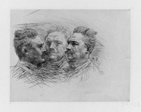 Auguste Rodin - Henri Becque