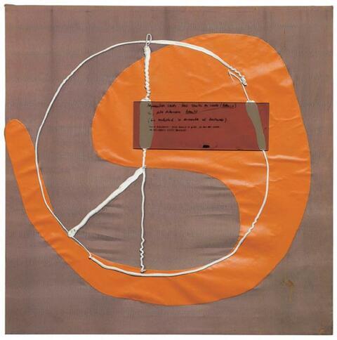 Martin Kippenberger - Ohne Titel (Argumentos caros. Una sonata en verde (blanco). Si, esto estviera bonito