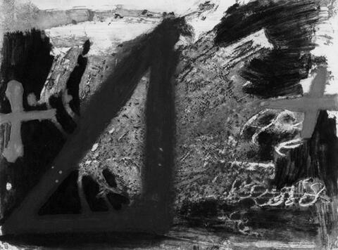 Antoni Tàpies - Triangle