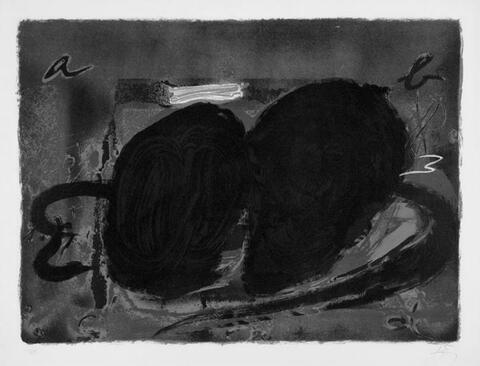 Antoni Tàpies - Deux Trous