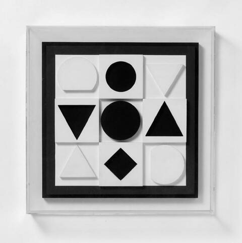 Victor Vasarely - Eclipse