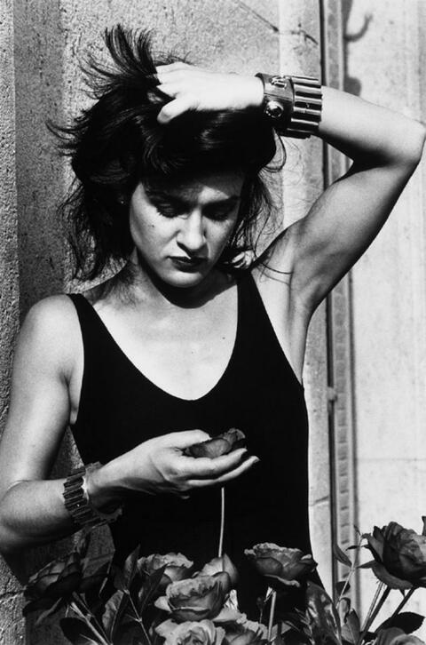 Helmut Newton - Paloma Picasso (Aus: Private Property)