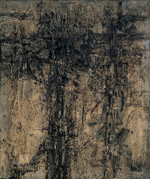 Karl Fred Dahmen - Erdhafte Komposition III