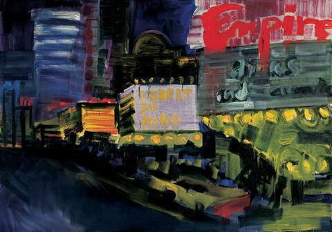Rainer Fetting - Times Square