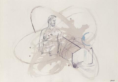 Martin Kippenberger - Ohne Titel (Selbstporträt)