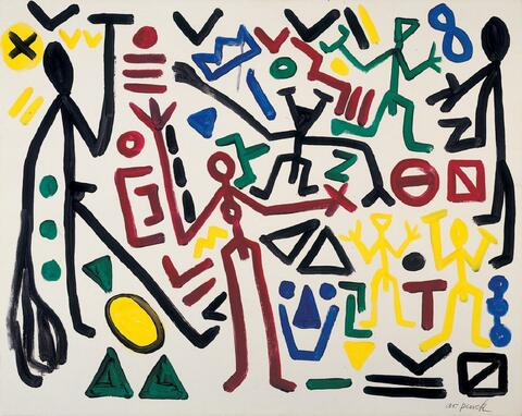 A.R. Penck - Charly