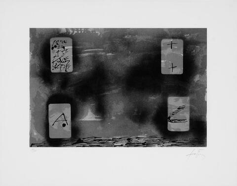 Antoni Tàpies - Quatres Rectangles