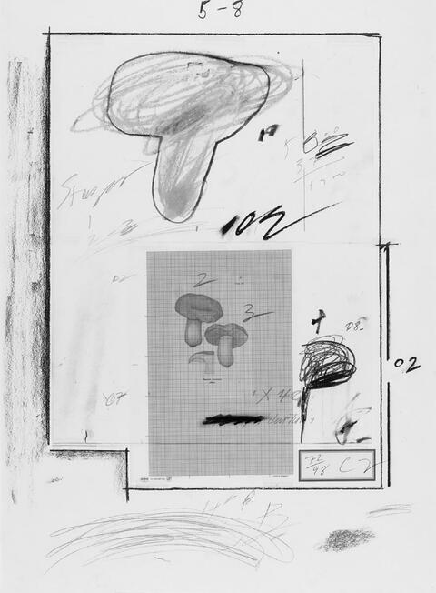 Cy Twombly - Natural History, Part I, No. III