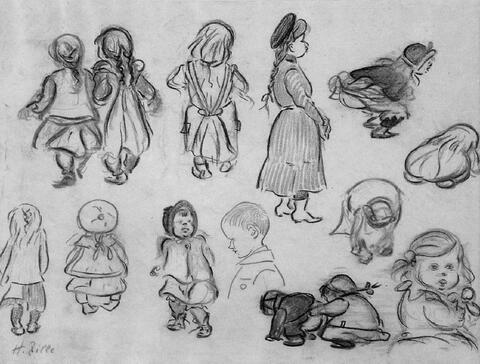 Heinrich Zille - Kinderstudien