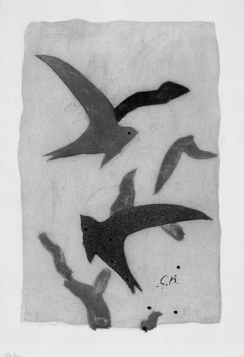 Georges Braque - aus: Paroles Peintes
