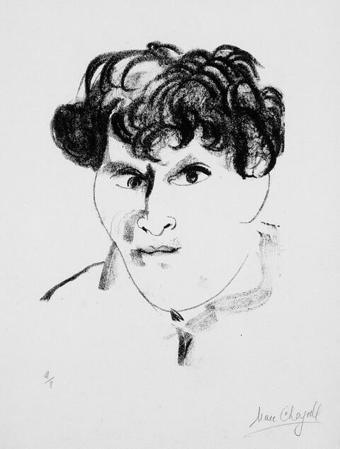 Marc Chagall - Selbstportrait