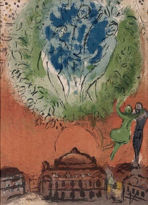 Marc Chagall - Derrière le Miroir, Nos. 66-68