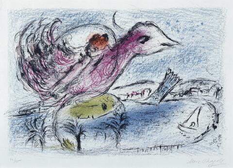 Marc Chagall - Die Bucht