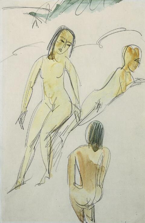 Ernst Ludwig Kirchner - Drei Akte in den Dünen